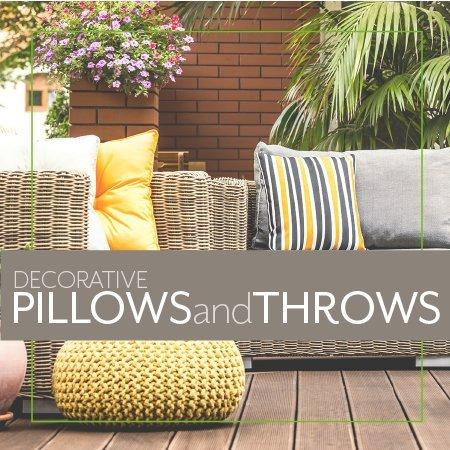 Decorative Pillows and Throws